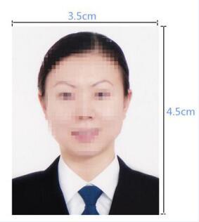 越南签证照片模板